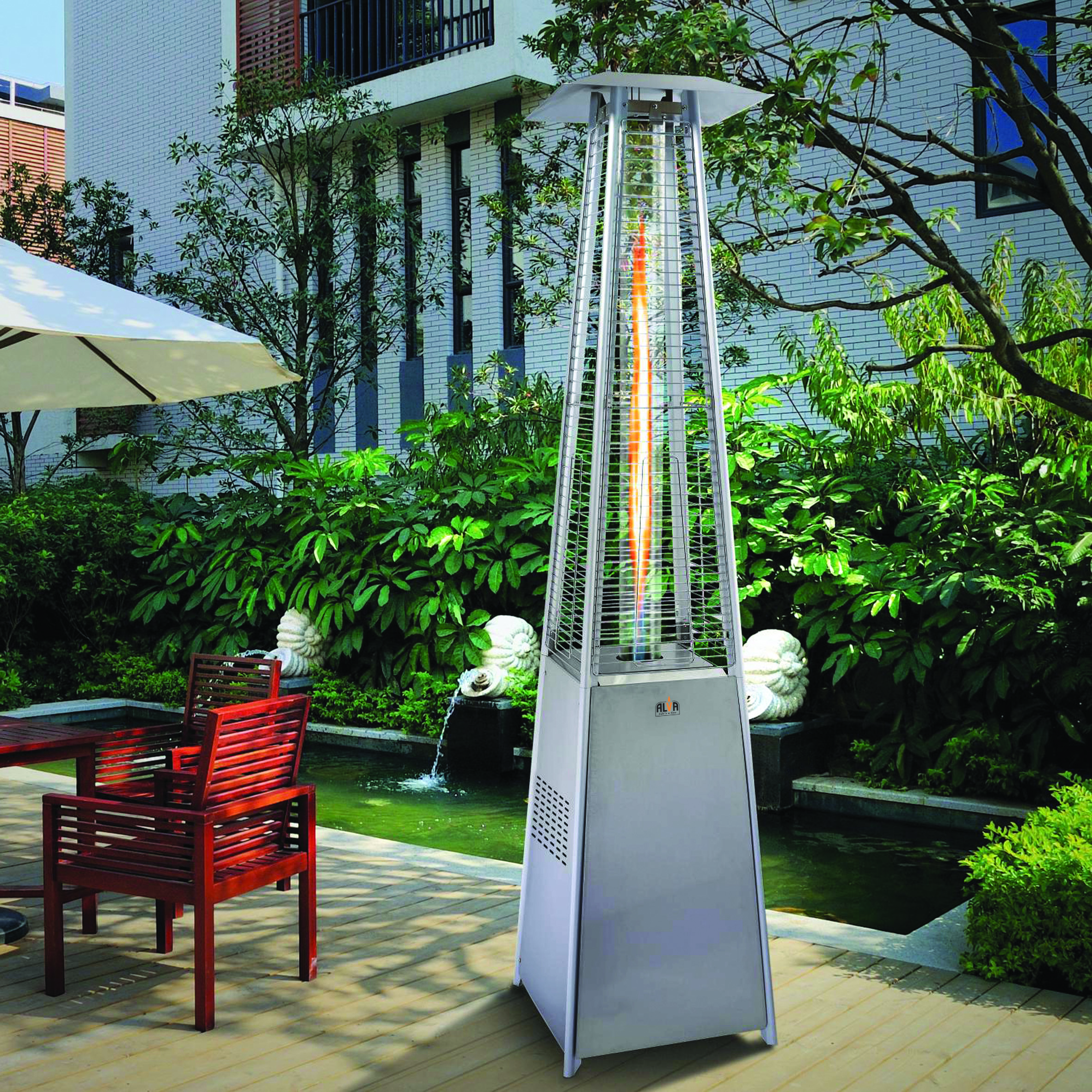 Bon ALVA Designer Glass Patio Heater