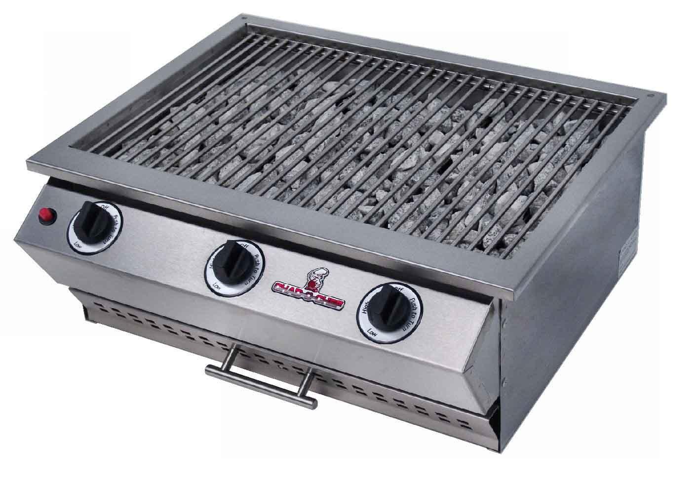 CHAD O CHEF 3 Burner Sizzler Gas Grill