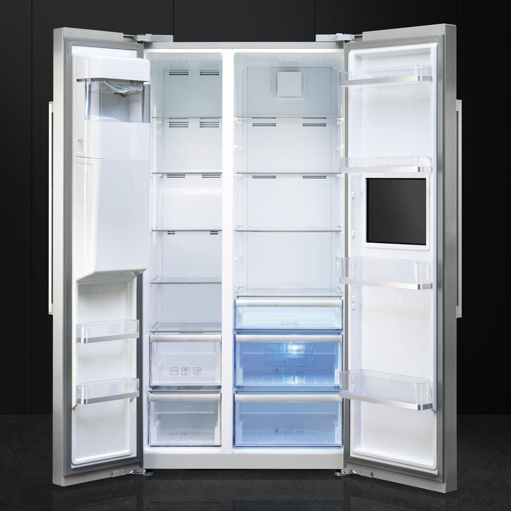 Smeg 90cm Side By Side Combination Fridge Freezer