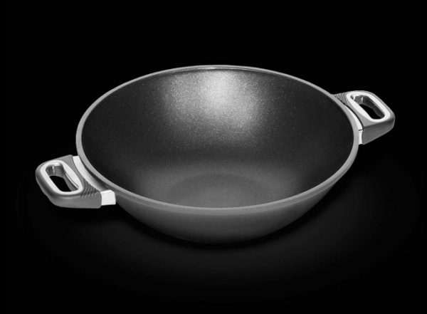 AMT Wok Pan 32cm with Side Handles