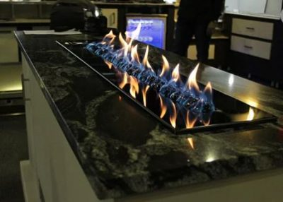 CHAD-O-CHEF Flameline 1600mm Gas Drop-In Fireplace