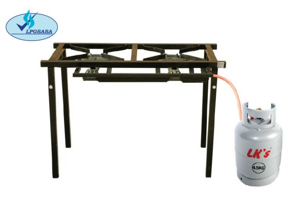 LK's 2-Pot Gas Boiling Table