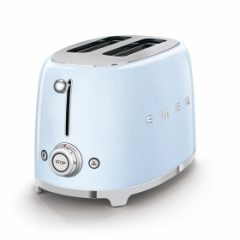 smeg Retro 2-Slice Toaster - Pastel Blue