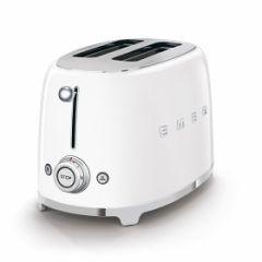 smeg Retro 2-Slice Toaster - Ice White