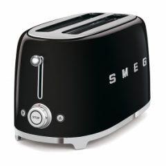 smeg Retro 4-Slice Toaster - Black