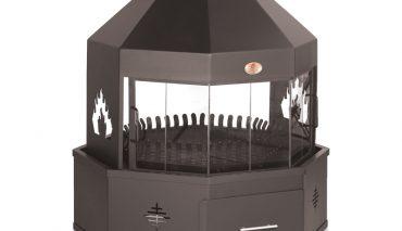 Home Fires 1000 Alpine Octagonal Freestanding Fireplace