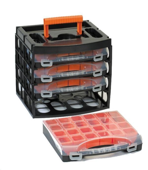 Port-Bag Organiser Poly Set 31/16 x 4