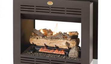 Home Fires Double Sided Built-in Vent Free Fireplace Gas Box Only