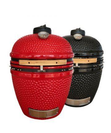 Kamado Jan Grill Large Red&Black