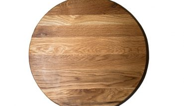 White Oak Round Board – large